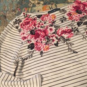 Karen Scott knit top size L